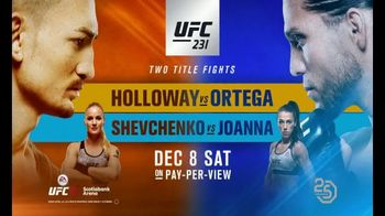 UFC 231 TV Spot, 'Two Title Fights' Song by Logic - Thumbnail 9