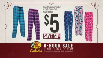 Bass Pro Shops Black Friday 6-Hour Sale TV Spot, 'Pajamas, Bikes and Smoker' - Thumbnail 6