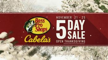 Bass Pro Shops 5 Day Sale TV Spot, 'Something for Everyone'