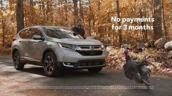 Happy Honda Days TV Spot, 'Turkey' [T2] - Thumbnail 10