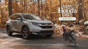 Happy Honda Days TV Spot, 'Turkey' [T2] - Thumbnail 8