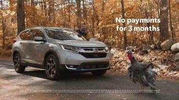 Happy Honda Days TV Spot, 'Turkey' [T2] - Thumbnail 9