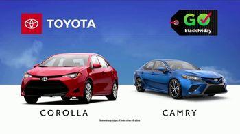 Toyota Govember Black Friday Sales Event TV Spot, 'Sweet Wheels: Corolla & Camry' [T2] - Thumbnail 8