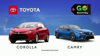 Toyota Govember Black Friday Sales Event TV Spot, 'Sweet Wheels: Corolla & Camry' [T2] - Thumbnail 9