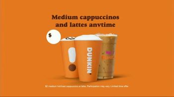 Dunkin' Donuts $2 Medium Cappuccinos and Lattes TV Spot, 'Young Looking' - Thumbnail 10