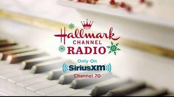Hallmark Channel Radio TV Spot, 'SiriusXM: Listen Free'