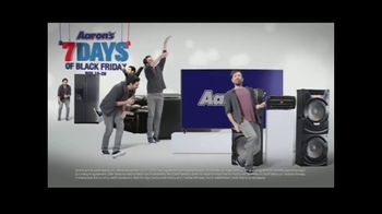 Aaron's Seven Days of Black Friday TV Spot, 'Rent to Own'