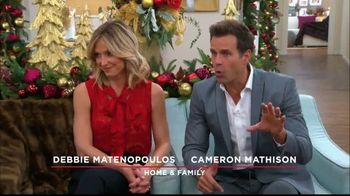 Ebates TV Spot, 'Hallmark Channel: Holiday Shopping Tips' Ft. Debbie Matenopoulos, Cameron Mathison