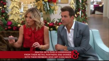 Ebates TV Spot, 'Hallmark Channel: Holiday Shopping Tips' Ft. Debbie Matenopoulos, Cameron Mathison - Thumbnail 6