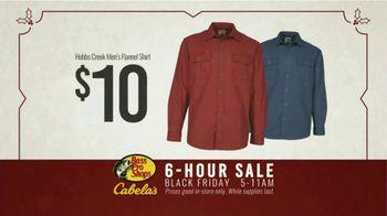 Bass Pro Shops 6-Hour Sale TV Spot, 'Flannel Shirt' - Thumbnail 10