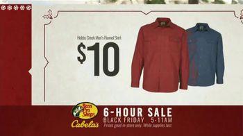 Bass Pro Shops 6-Hour Sale TV Spot, 'Flannel Shirt' - Thumbnail 9