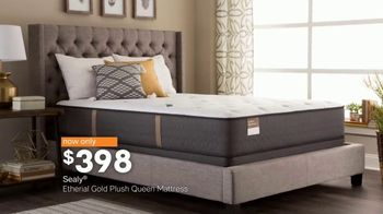 Ashley HomeStore Black Friday Mattress Sale TV Spot, 'Sealy and Tempur-Pedic Sets' - Thumbnail 3