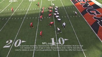 NFL TV Spot, 'Built Ford Tough Offensive Line of the Week: Saints' - 6 commercial airings