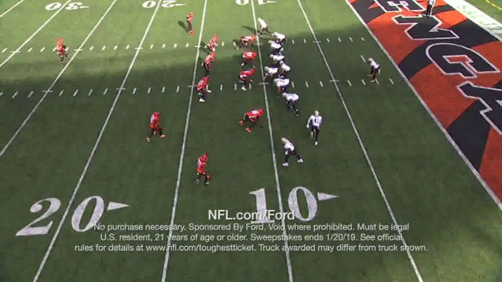 NFL TV Commercial, 'Built Ford Tough Offensive Line of the Week: Saints'