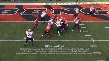 NFL TV Spot, 'Built Ford Tough Offensive Line of the Week: Saints' - Thumbnail 7