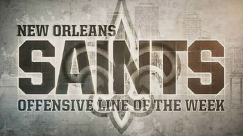 NFL TV Spot, 'Built Ford Tough Offensive Line of the Week: Saints' - Thumbnail 2