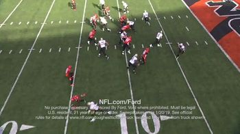 NFL TV Spot, 'Built Ford Tough Offensive Line of the Week: Saints' - Thumbnail 4