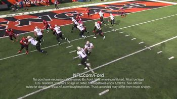 NFL TV Spot, 'Built Ford Tough Offensive Line of the Week: Saints' - Thumbnail 6