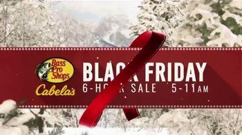 Bass Pro Shops Black Friday 6-Hour Sale TV Spot, 'Jeans and Humminbird GPS' - Thumbnail 3