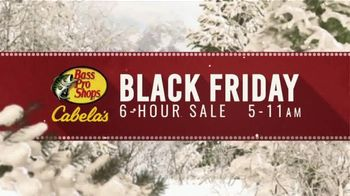 Bass Pro Shops Black Friday 6-Hour Sale TV Spot, 'Jeans and Humminbird GPS'