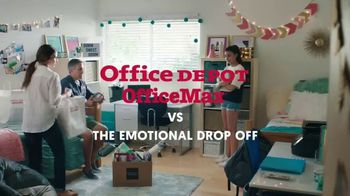 Office Depot TV Spot, 'The Emotional Drop Off' - Thumbnail 1