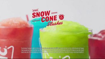 Sonic Drive-In Snow Cone Slushes TV Spot, 'Dill-icious' - Thumbnail 9