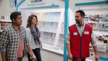 Lowe's TV Spot, 'Teamwork Makes Your Dream Work: Valspar'