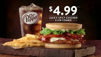 Jack in the Box Spicy Chicken Club Combo TV Spot, 'Chucho' [Spanish] - Thumbnail 4
