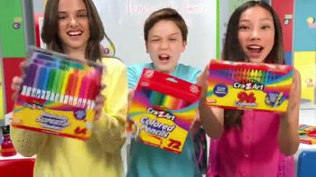 Cra-Z-Art TV Spot, 'Back to School: Go Cra-Z! Love My Cra-Z-Art!' - Thumbnail 3