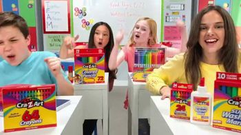 Cra-Z-Art TV Spot, 'Back to School: Go Cra-Z! Love My Cra-Z-Art!' - Thumbnail 7