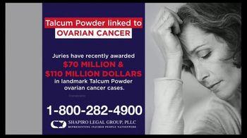 Shapiro Legal Group TV Spot, 'Talcum Powder Linked to Ovarian Cancer' - Thumbnail 2