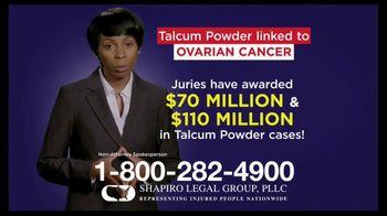 Shapiro Legal Group TV Spot, 'Talcum Powder Linked to Ovarian Cancer' - Thumbnail 4