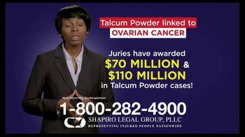 Shapiro Legal Group TV Spot, 'Talcum Powder Linked to Ovarian Cancer' - Thumbnail 5