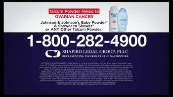 Shapiro Legal Group TV Spot, 'Talcum Powder Linked to Ovarian Cancer' - Thumbnail 7