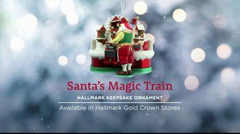 Hallmark Keepsake Ornaments TV Spot, 'Hallmark Channel: Santa's Magic Train Ornament' - Thumbnail 4