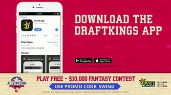 DraftKings $10,000 Fantasy Baseball Contest TV Spot, '2018 All-Star Game' - Thumbnail 4