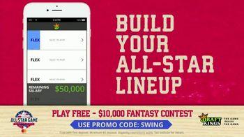 DraftKings $10,000 Fantasy Baseball Contest TV Spot, '2018 All-Star Game' - Thumbnail 7