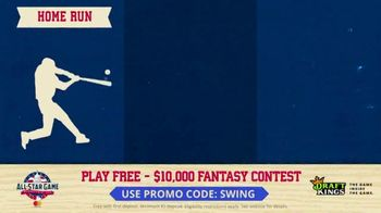 DraftKings $10,000 Fantasy Baseball Contest TV Spot, '2018 All-Star Game' - Thumbnail 8