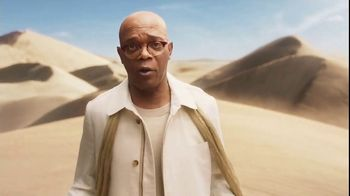 Capital One Quicksilver TV Spot, 'Desert ' Featuring Samuel L. Jackson - 2423 commercial airings