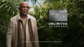 Capital One Quicksilver TV Spot, 'Desert ' Featuring Samuel L. Jackson - Thumbnail 8