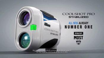 Nikon Sport Optics Coolshot Pro Stabilized TV Spot,  'Already Named No. 1' - Thumbnail 9