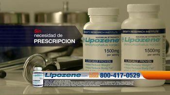 Lipozene TV Spot, 'Cirugía de rodilla' con Rodney Peete [Spanish]