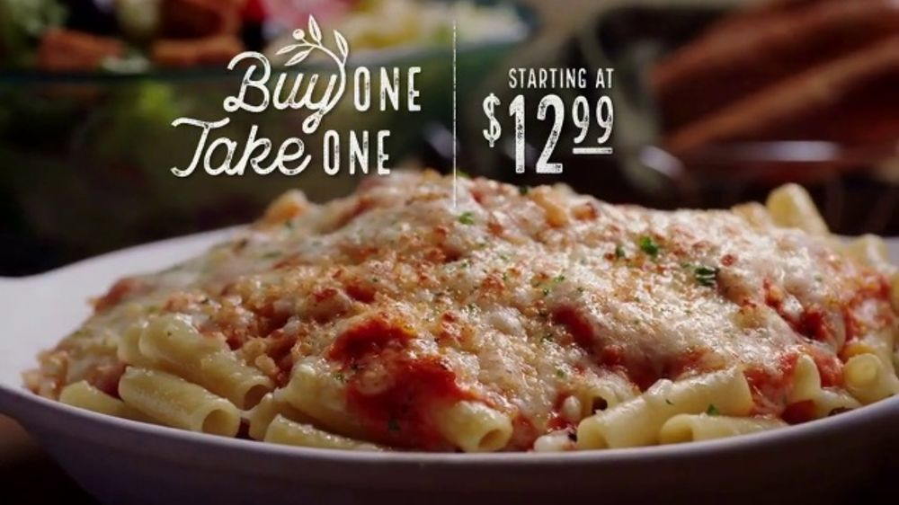 Olive Garden Buy One Take One TV Commercial, 'Favorites ...