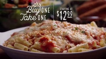 Olive Garden Buy One Take One TV Spot, 'Favorites: Lasagna'