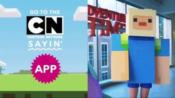 Cartoon Network CN Sayin' App TV Spot, 'Adventure Craft Creation Challenge' - Thumbnail 10