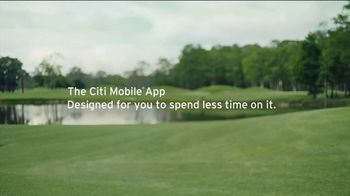 Citi Mobile App TV Spot, 'More Time in the Moment' Featuring Justin Thomas - Thumbnail 10