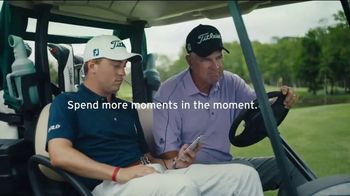 Citi Mobile App TV Spot, 'More Time in the Moment' Featuring Justin Thomas