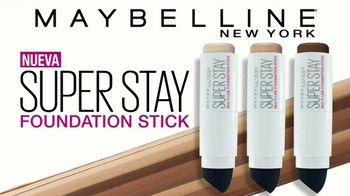 Maybelline SuperStay Foundation Stick TV Spot, '24 horas' [Spanish] - Thumbnail 4