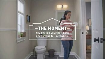 Lowe's TV Spot, 'Half Bath: Select Essentials' - Thumbnail 5