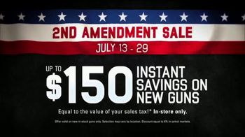 Bass Pro Shops 2nd Amendment Sale TV Spot, 'Seminars & Giveaways' - Thumbnail 4